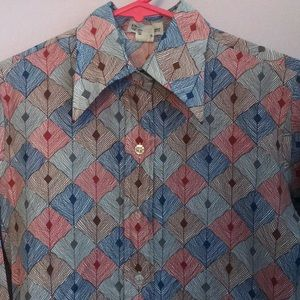 Christian Dior Vintage Button Down Shirt S / M